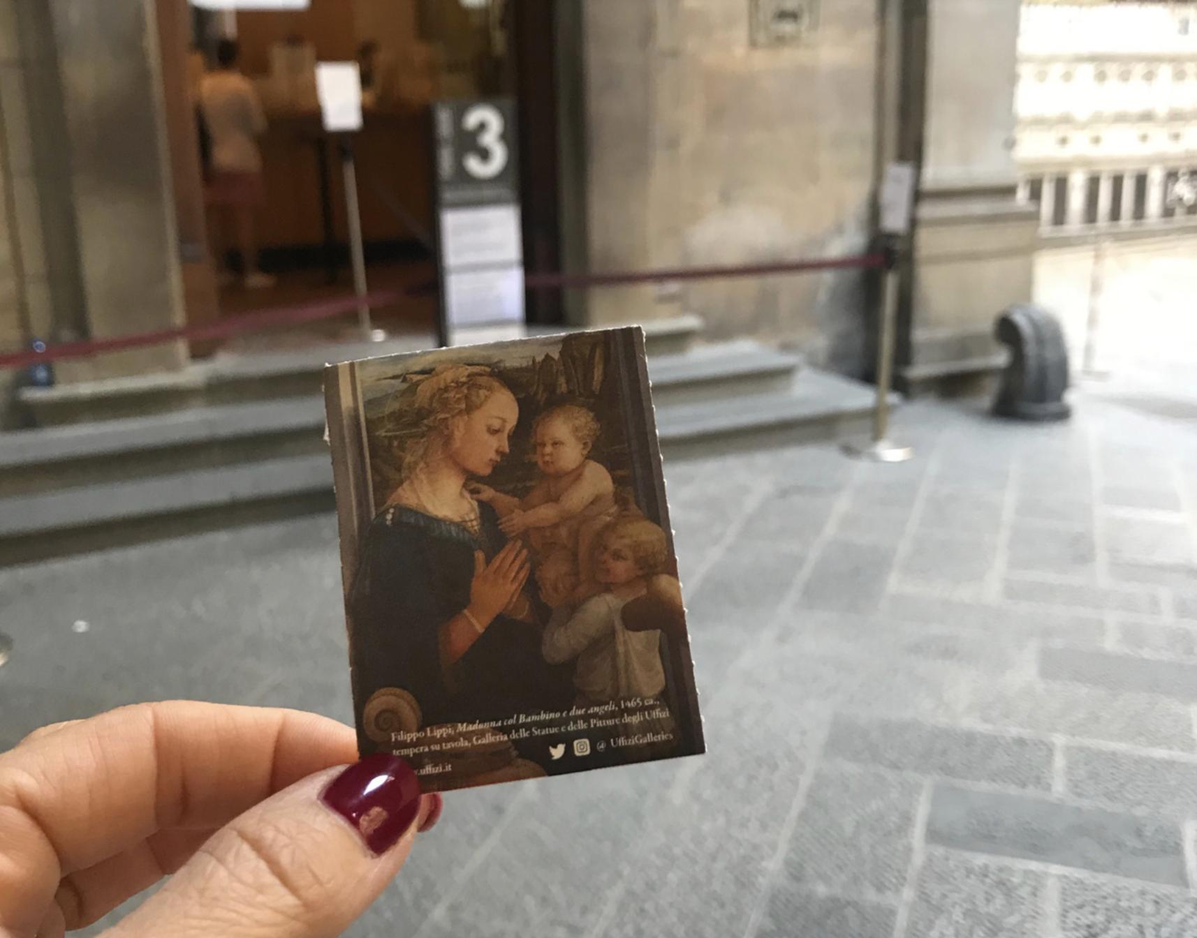 Ticket to the Uffizi Gallery