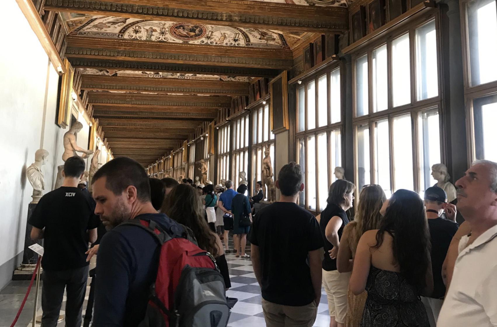 Uffizi Gallery: Exhibition Route