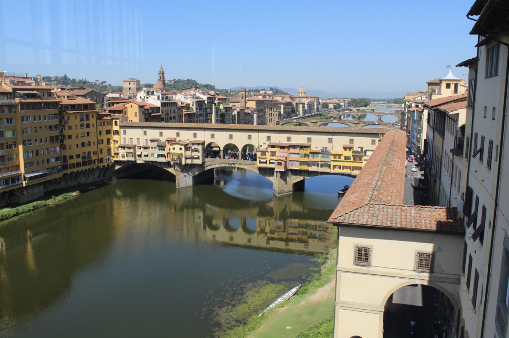 Ponte Vecchio from the Uffizi