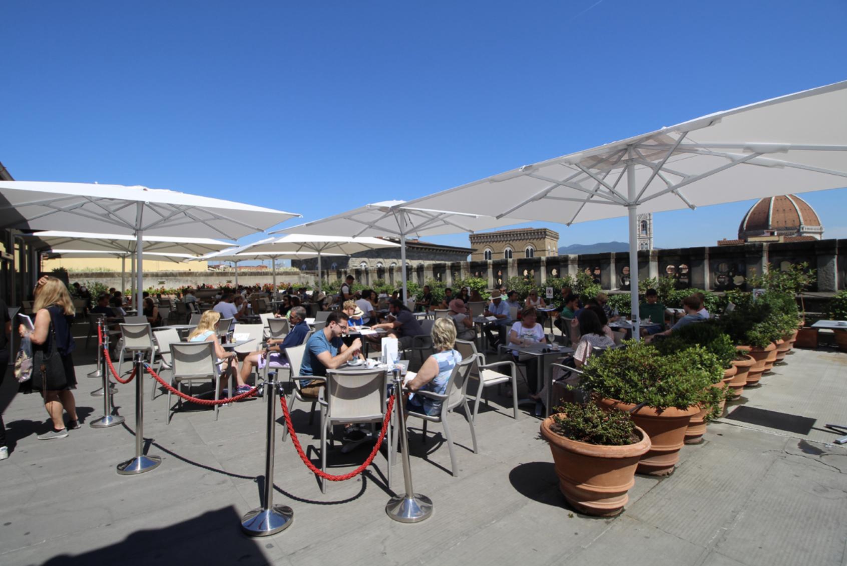 Uffizi Terrace — Coffee shop