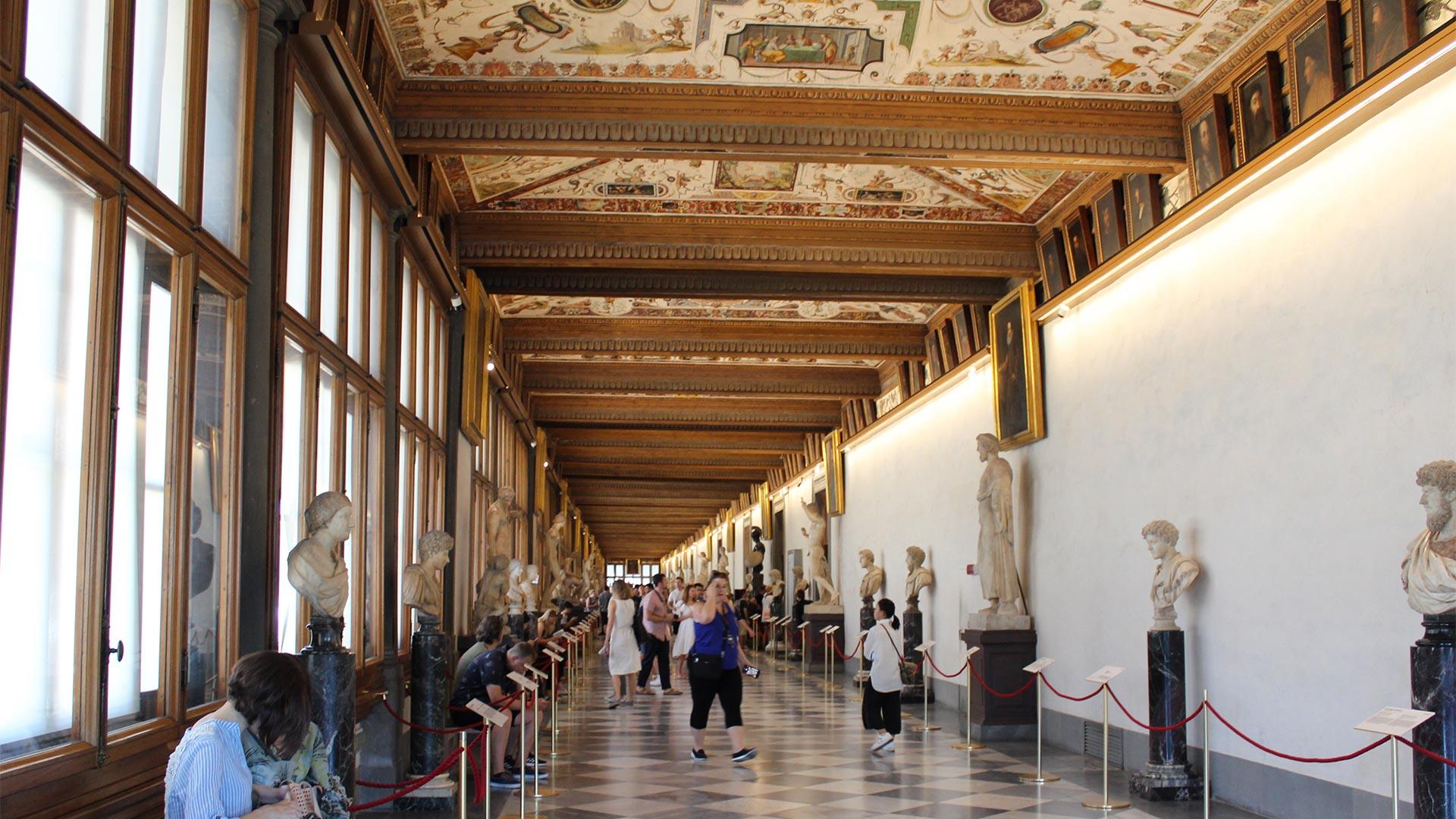 The Uffizi Museum