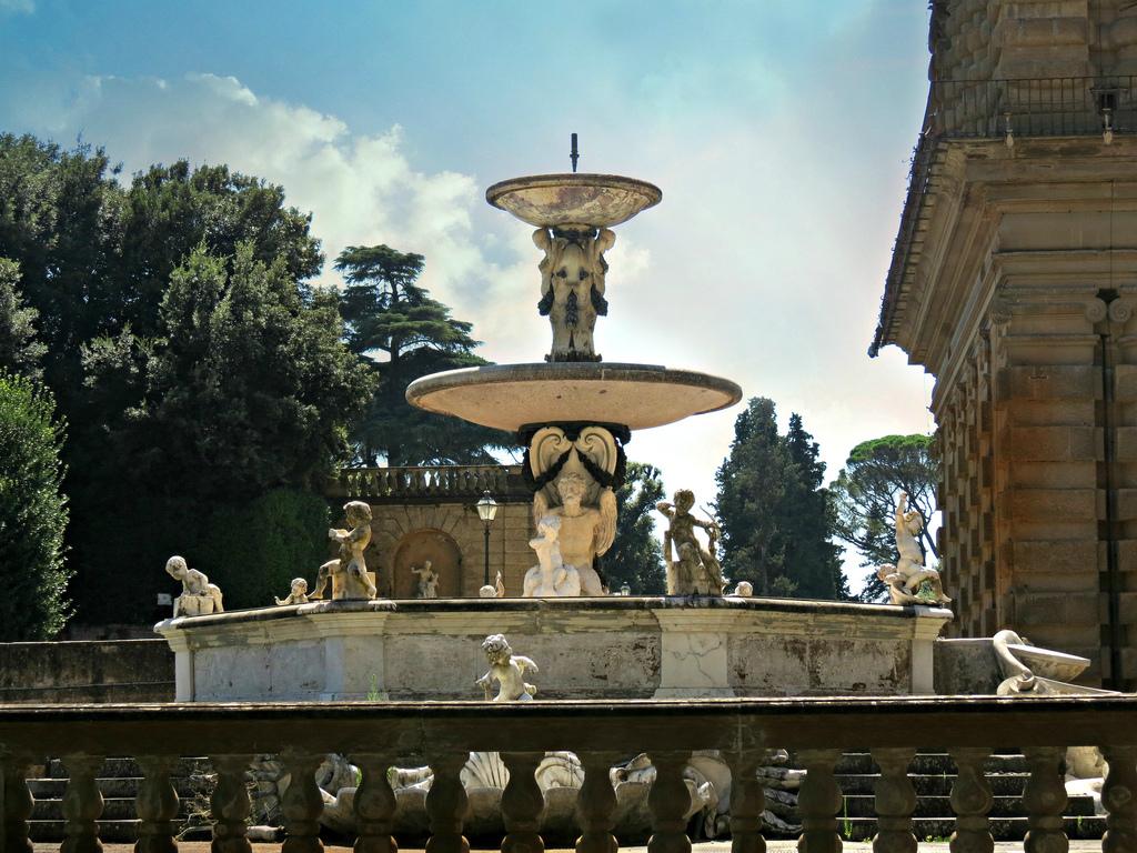 Boboli Gardens Fountains